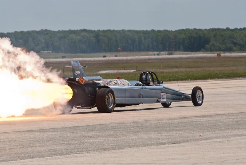 Rocket Powered car