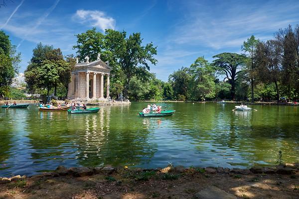 J04 - Parc Villa Borghese