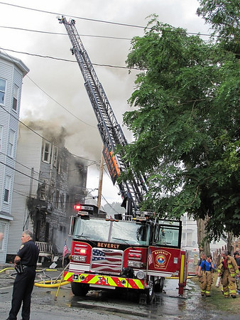 Beverly - 5th Alarm, July 2010