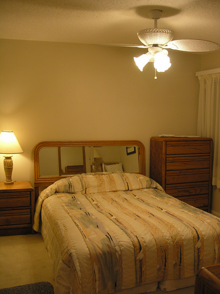 Guest bedroom from doorway