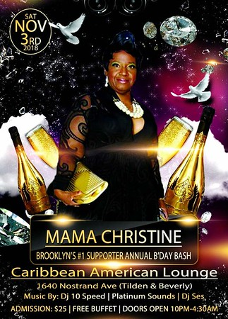 MAMA CHRISTINE BIRTHDAY BASH