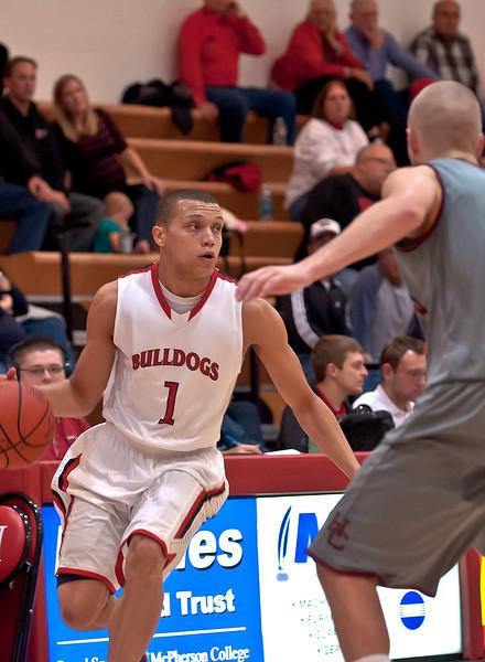 McPherson Mens Basketball 2011-2012