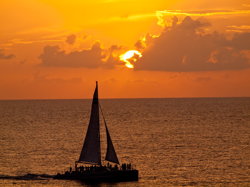 Sunset Party Boat