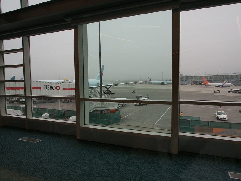 Oct. 21/13 - At Vancouver International Airport, waiting for the plane back to Toronto