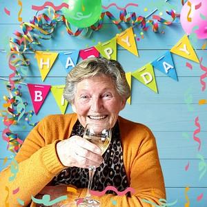 Verjaardag oma