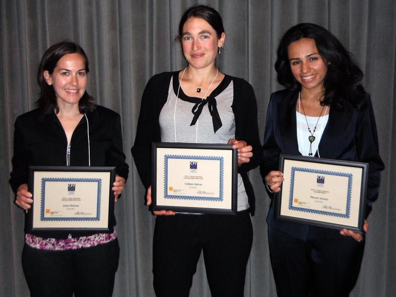 Alyssa Sherman, Cathleen Sullivan, Maryam Sanieian