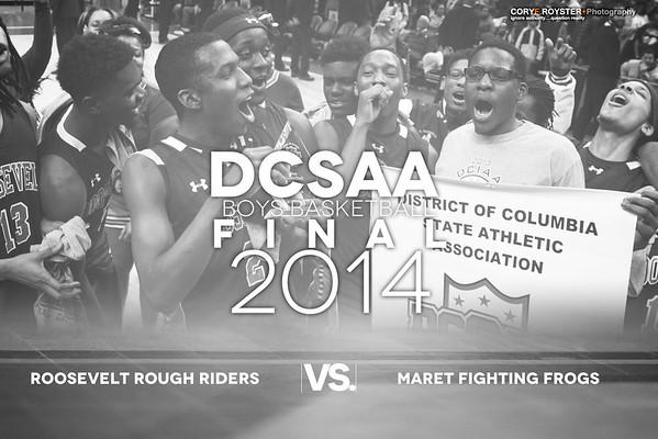 DCSAA Final Boys Roosevelt v Maret