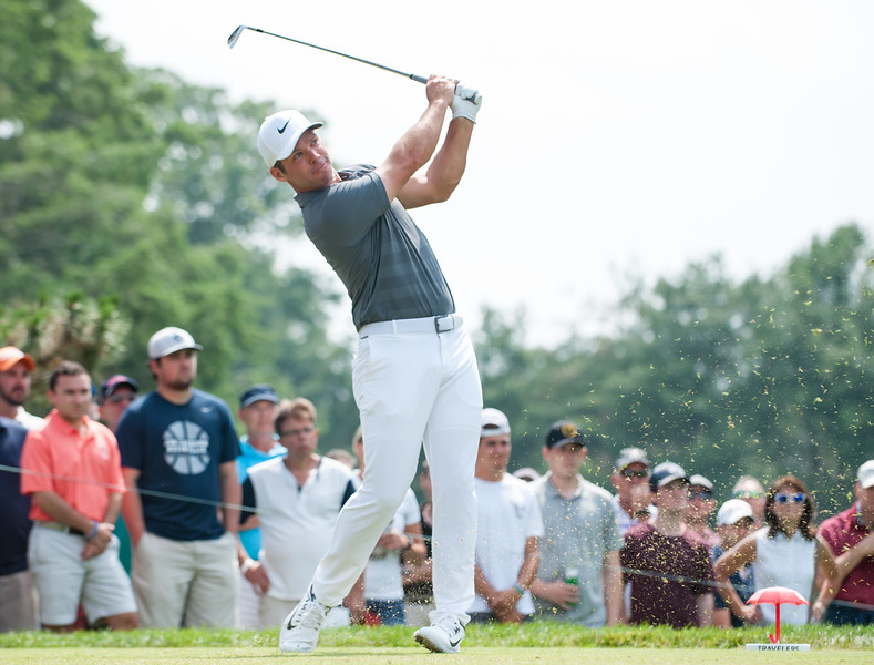 06/24/18  Wesley Bunnell | Staff  The final day of The Travelers Championship at TPC River Highlands in Cromwell on Sunday June 24. Paul Casey finished T2 with a -14.