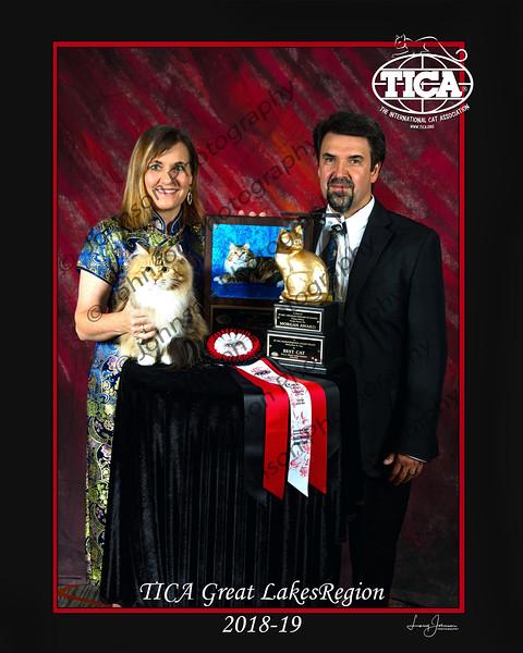 TICA Great Lakes Regional Banquet 2019 - Dayton, OH