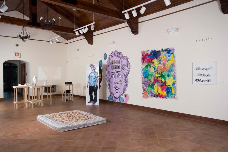 BFA & BA Senior Portfolio Exhibition Fall 2016, Installation View