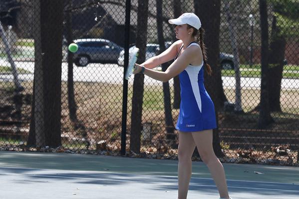 Girls' Varsity Tennis vs. New Hampton: May 6