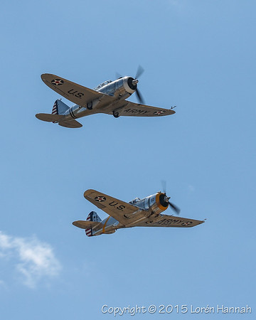 PROP WARBIRDS - Planes of Fame Airshow 5/2/15 Sat - Chino, CA