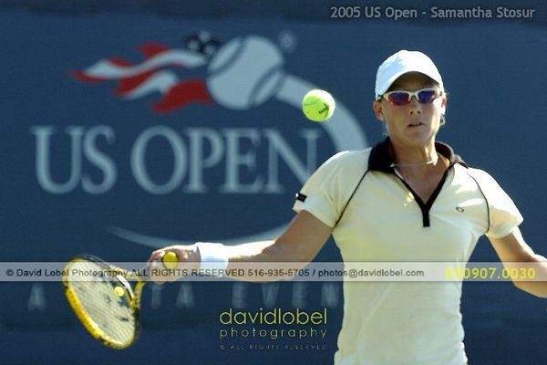 2005 US Open - Stosur & Raymond WD Quarters