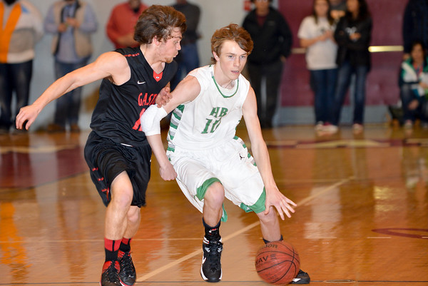 Hokes Bluff Varsity Boys v. Gaston, January 17, 2014