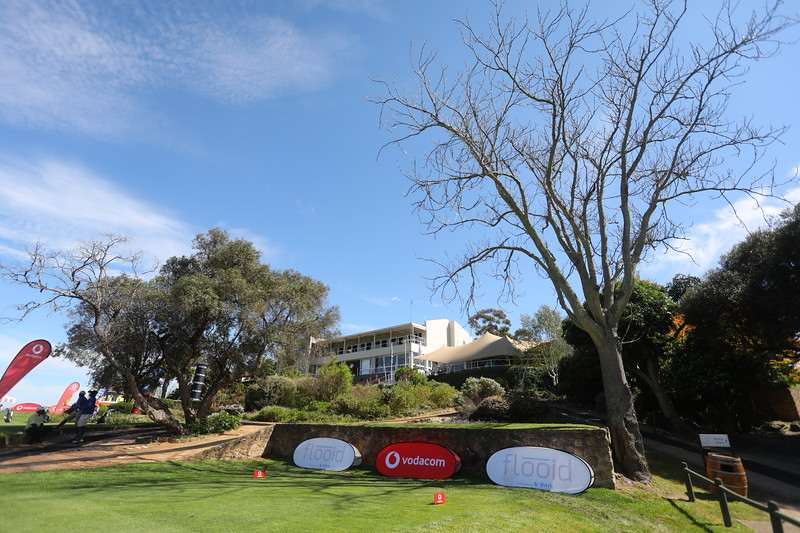 STELLENBOSCH, SOUTH AFRICA - OCTOBER 2: Hole 10 during the held at Stellenbosch Golf Club on October 2, 2018 in Stellenbosch, South Africa. EDITOR'S NOTE: For free editorial use. Not available for sale. No commercial usage. (Photo by Carl Fourie/Sunshine Tour)