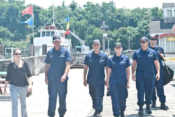 US Coast Guard Guests