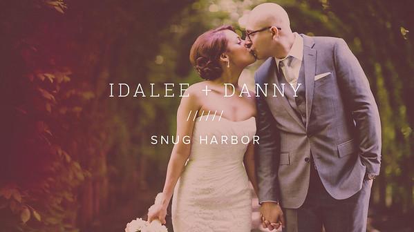 IDALEE + DANNY ////// SNUG HARBOR