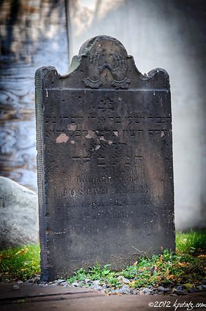 First Jewish Cemeterey in the U.S., 2012