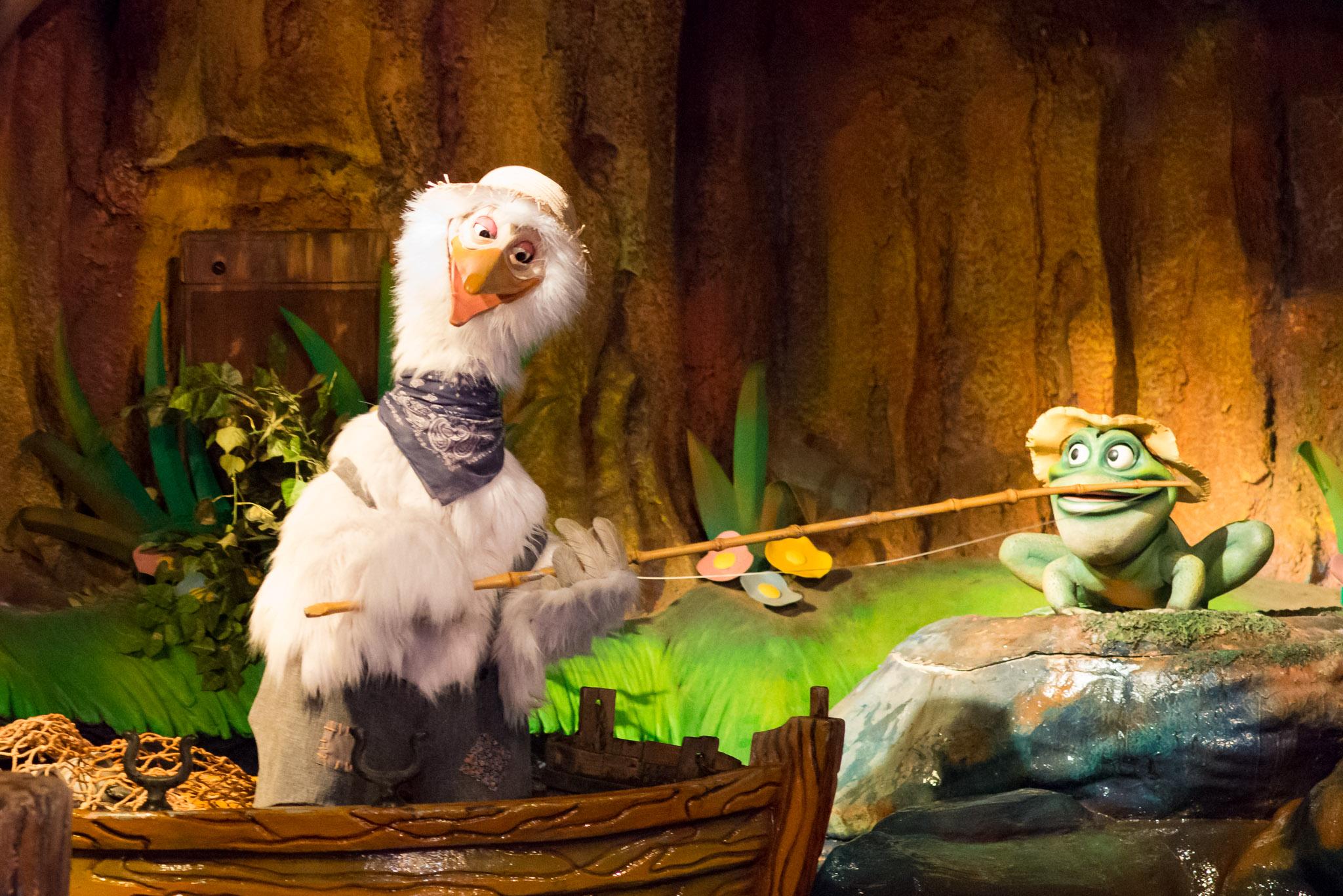 Splash Mountain Characters - Walt Disney World Magic Kingdom