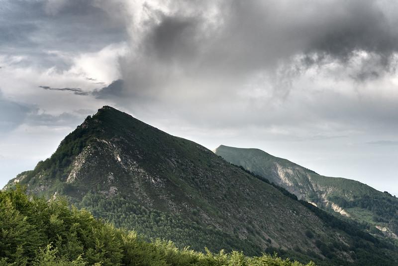 Monte Cisa e Monte Prampa - Villa Minozzo, Reggio Emilia, Italy - June 3, 2018