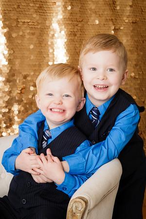 Lucas and Gavin 2015