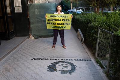 Juicio Berta Cáceres Madrid