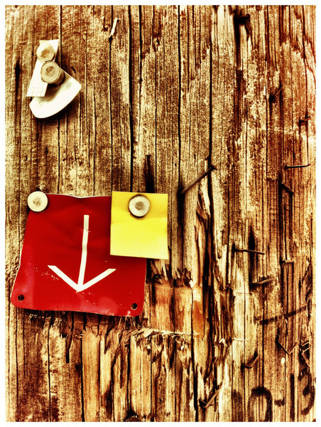 posted bills (iPhoneography)