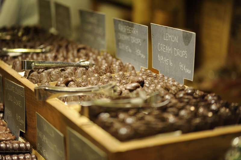 Chocolates at Vermont County Store