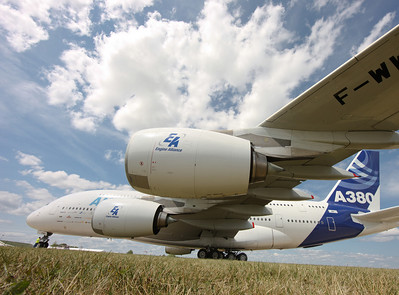Airbus A380 at Oshkosh 2009