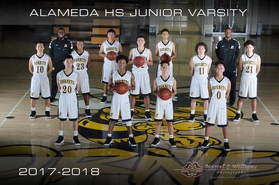 2018 Alameda High Basketball Junior Varsity