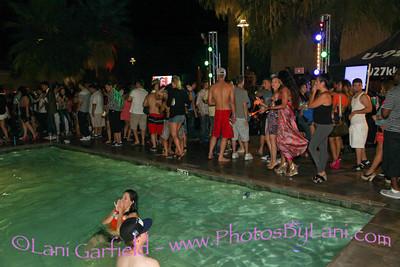 Agua Caliente Casino Pool Party and Bikini Contest 8/17/12