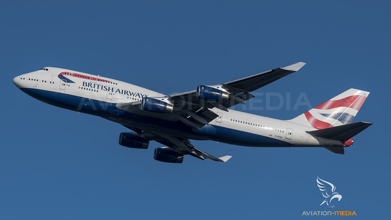 British Airways / Boeing B747-436 / G-BYGF
