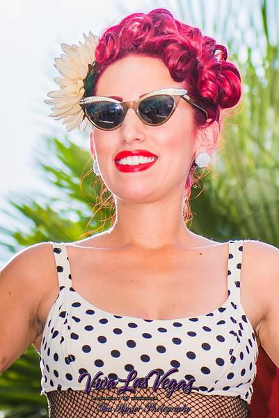 2014 Viva Las Vegas Rockabilly Weekend Vintage Swimsuit Contest