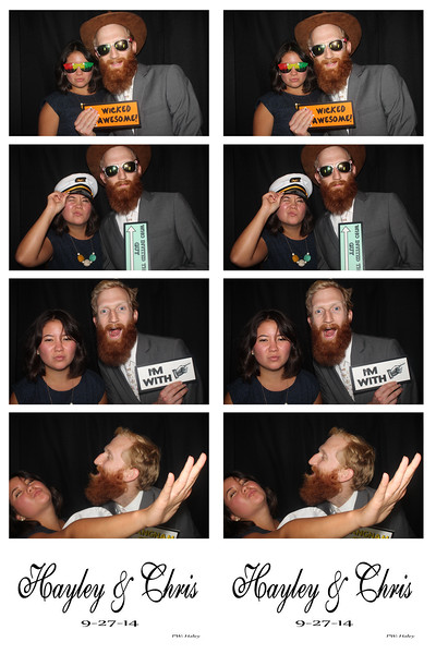 Hayley & Chris September 27, 2014