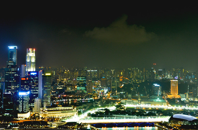 F1 race track, singapore