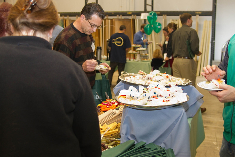 Grand Opening day of the EcoBuilding Bargains new store, a division of the Center for EcoTechnology , Massachusetts
