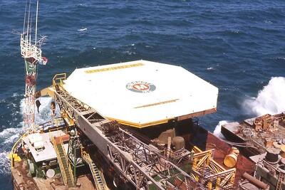 McDermott's Work Barge