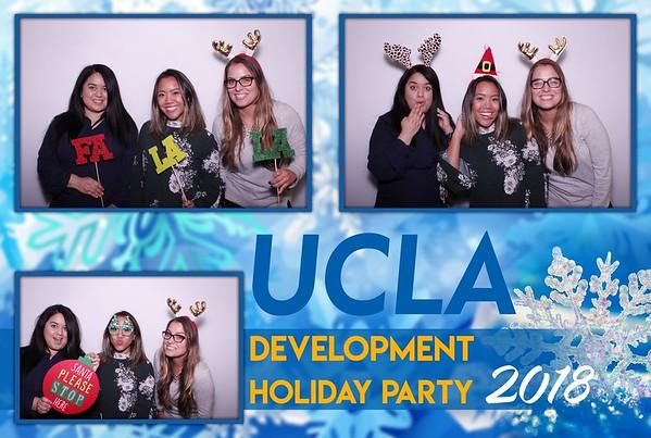 UCLA Development Holiday Party 2018