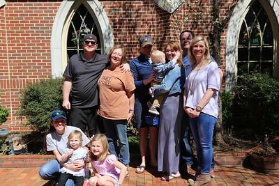 Randall Family Easter April 2018