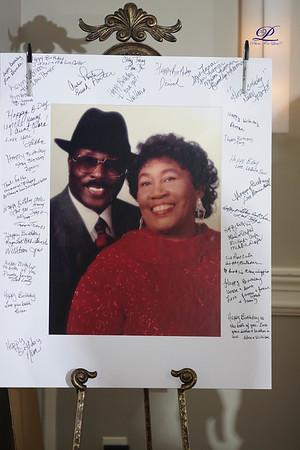 Henry & Clara Wiggins 80 yrs & 85 yrs birthday party