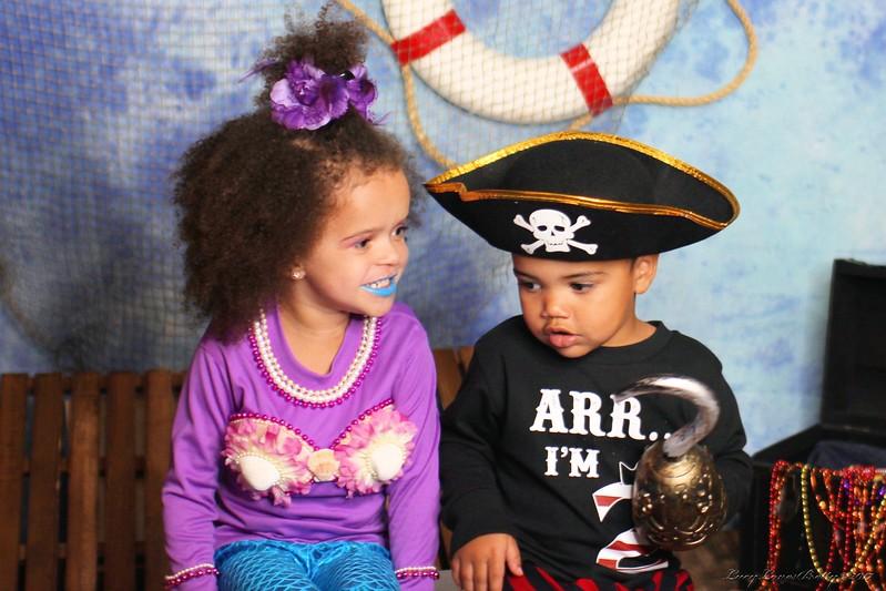Sophia & Baby Eric Halloween Shoot 2017