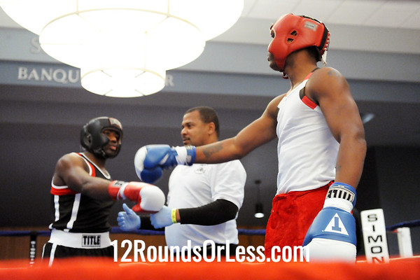 Bout 10 DeMarcus Minter, Akron -vs- Kato Montgomery, Cleveland Heavwweights