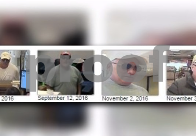'Barrel Chested Bandit' arrested in Arizona, suspect in 11 bank robberies