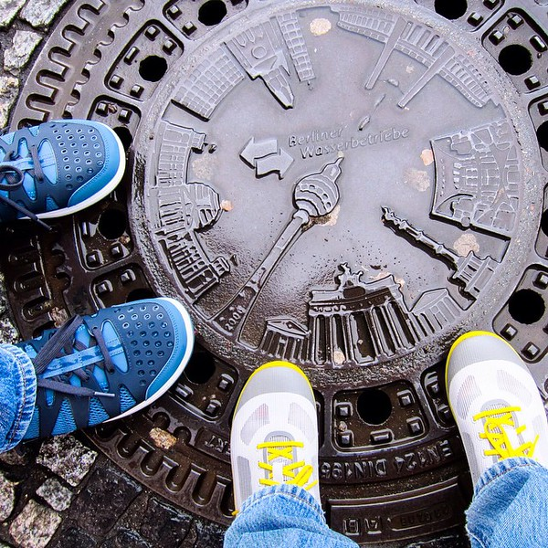 When exploring, we're always told to look up. Sometimes, you should look down, too. Life exists in the little details -- including this manhole cover, an interpretative bit from Berlin Water Works. We're taking part in #MyDailyAdventure #PoweredbyRockport with @RockportShoes. Share your own adventure using the hashtags above and #contest for a chance to win fun prizes. Good luck! via Instagram http://ift.tt/1zqnEVV