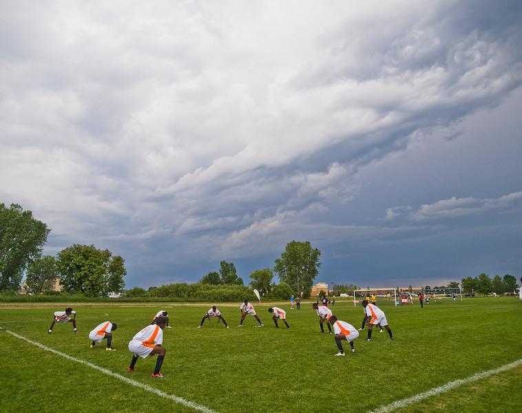 """10. """"Tornado Season and Futbol"""" by Garry Frankel."""