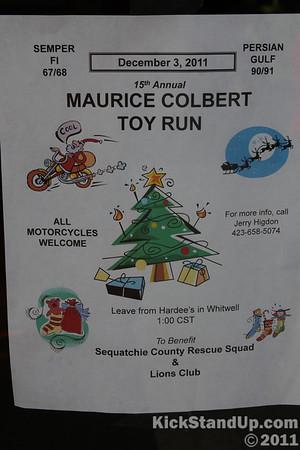12.3.2011 Maurice Colbert Toy Run