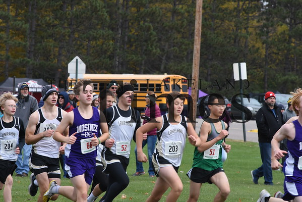 LUHS Cross Country-Great Northern Conference Meet 10/13/18