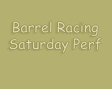 Bow Island 2018 Barrel Racing Saturday Perf