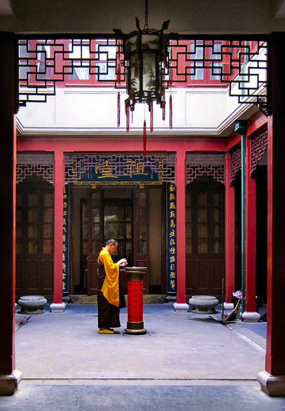 Jade Temple Monk