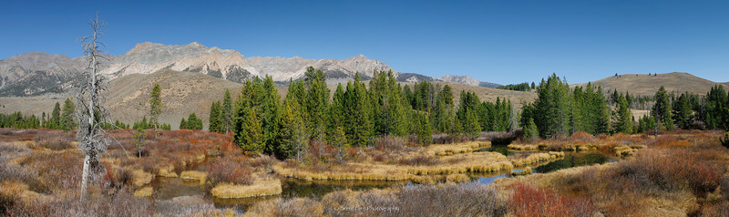 DF.3410 - Wood River backwash and Boulder Mountains, Sawtooth National Forest, ID.
